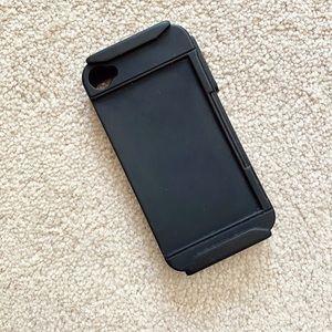 Black rubber Incipio iPhone 4 case